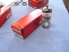 Vintage NOS/NIB 6JU8A Quadruple Diode/Detector Vacuum Tube, Hickok Tested!