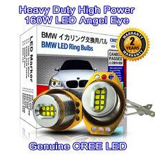 Heavy Duty 160W High Power BMW E90 E91 CREE LED Angel Eyes DRL Marker 7000K