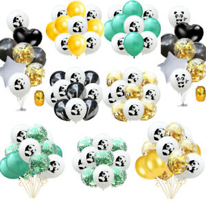 Panda Confetti Latex foil Balloons Banner Child Kids Birthday Baby Shower Party