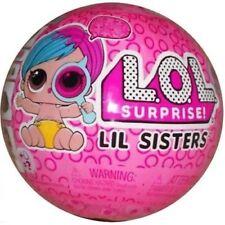 L.O.L. Surprise! Eye Spy Lil Sisters 1-2 Pink New!