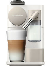 NEW Nespresso by Delonghi Lattissima One Capsule Coffee Machine: White EN500W