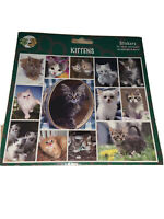 DOUBLE CAT BREED CRAFT STICKERS CARD CRAFT LAPTOP ENVELOPES KITTENS