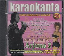 Ricardo Arjona Exitos Pistas Musicales & Karaoke New Nuevo sealed