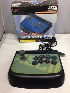 Sony PlayStation2 PS2 ASCII STICK FT2 ASC-0527v JAPAN boxed