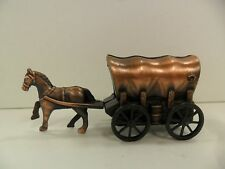 Antique Finished Horse Drawn Wagon Pencil Sharpener - New In Box -