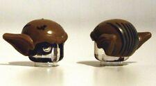LEGO - Minifig, Headgear Head Top - Goblin w/ Ears & Hair Lines - Dark Tan