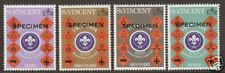 St. Vincent Sc 385-388v Mnh. 1974 Boy Scouts Specimen
