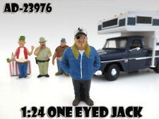 """ONE EYED JACK  """"TRAILER PARK"""" FIGURE 1:24 SCALE MODELS BY AMERICAN DIORAMA 23976"""