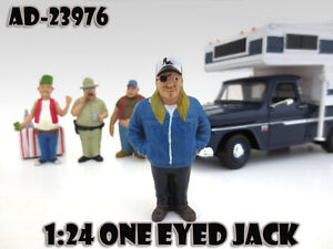 "ONE EYED JACK  ""TRAILER PARK"" FIGURE 1:24 SCALE MODELS BY AMERICAN DIORAMA 23976"