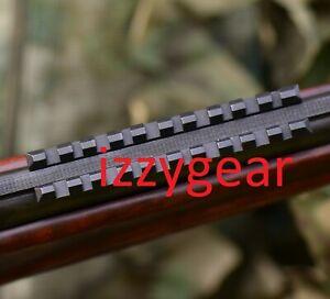 Russian steel MP-27,MP-153, Izh-27 ventilated rib rail 7 mm Weaver mount adapter