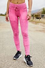 Free People NWT Size XL Pink Kyoto Leggings NEW