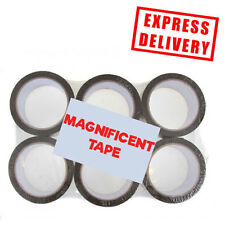 72 ROLLS STRONG BROWN BUFF PARCEL PACKING MAGNIFICENT TAPE SEALING 50MM X 66M