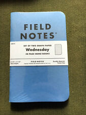 Field Notes Wednesday FNW-01 sealed 2-pack. Was available for sale only one day