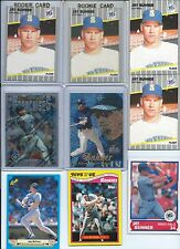 Jay Buhner Seattle Mariners Lot of (15) w/ Rookies Inserts Rare Parallels Mint