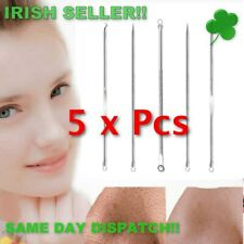 Acne Removal Needle Blackhead Remover Professional Stainless 5Pcs/Set