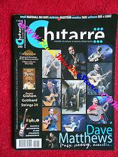 rivista CHITARRE 285/2009 Dave Matthews Giovanni Ferro Leo Leoni sebo Xotta Nocd