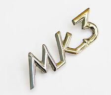 "Triumph Chrome ""Mk3"" MK III Script Badge Pour Triumph Spitfire, 621467"