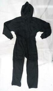 Keela Black Tactical Overall Coverall Paintballing Workwear Airsoft KC02A