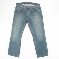 Vintage LEVI'S 559 Relaxed Straight Fit Men's Blue Jeans W32 L27