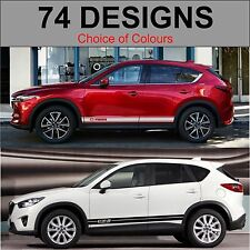 Mazda cx5 side stripes decals stickers graphic side stripe both sides