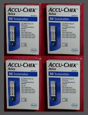 200 Stueck AVIVA Accu-Chek Sensoren - Teststreifen *vom FACHHAENDLER ROCHE * NEU