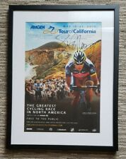 2010 Tour of California Cycling Poster RadioShack - Signed by Lance Armstrong