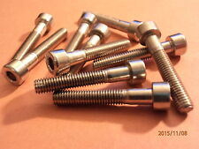 M5 x 30mm  A4 STAINLESS STEEL  SKT CAP HD SCREWS QTY  = 10