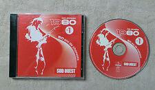 """CD AUDIO / LES ANNÉES 1980 VOL.1 50 ANS DE CHANSONS (SUD OUEST)"""" CD COMPILATION"""