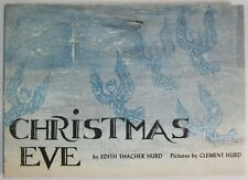 Vintage Christmas Eve Nativity Story Told by the Animals Hurd 1st Signed 1962