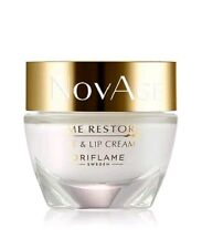 Oriflame Novage Time Restore Eye & Lip Cream, New *Sale*