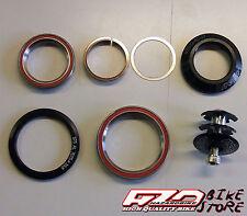 """Serie sterzo bici da 1"""" e 1/8+1/2 conica integrata su cuscinetti, A-Head Set"""