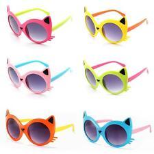 Baby Girls Boy 6 Colors Cartoon Cat UV400 Eyeglasses Toddler Baby Sunglasses