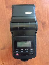 MINOLTA AUTO FLASH AF4000 with case, manual and wide panel