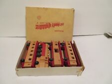 Vintage  PLAHO Wooden TRAIN Spielzeug MADE IN GERMANY   MADE  GDR