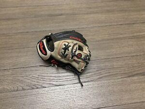 "Wilson A2000 1788 11.25"" I Web Baseball Glove Black Gray Red"