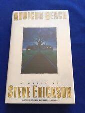 RUBICON BEACH - FIRST EDITION INSCRIBED BY STEVE ERICKSON