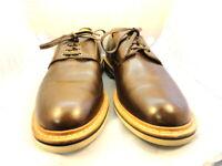 """Allen Edmonds Men's Shoes """"Nomad Plain Toe Derby"""" Oxfords Brown 10 D (181d)"""