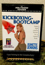 Jeanette Jenkins The Hollywood Trainer Kickboxing Bootcamp Dvd