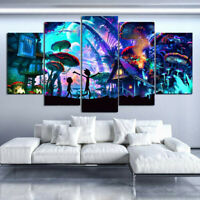 Canvas Painting 5 Pieces Poster Picture For Living Room Decor Wall Art Gift New