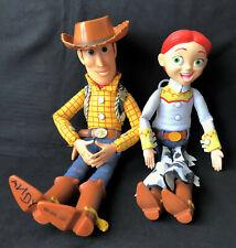 Disney Pixar Toy Story Woody Jessie Pull String Talking Dolls Thinkway Toys