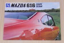 MAZDA 616 COUPE & SEDAN Car Sales Brochure c1974 #A47010N