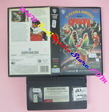 VHS film LA PICCOLA BOTTEGA DEGLI ORRORI 1988 Frank Oz WARNER (F82)no dvd