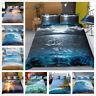 3D Beach Sunshine Sea and Ocean Quilt/Duvet/Doona Cover Bedding Set Pillowcase