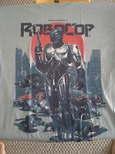 RoboCop Large Cotton Tshirt Gray - NEW!! Loot Crate
