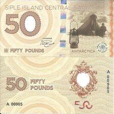 SIPLE ISLAND ANTARTIDA 50 LIBRAS 2017