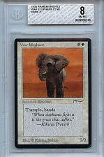 Magic the Gathering WOTC MTG Arabian Nights War Elephant BGS 8.0 NM/MT 6518