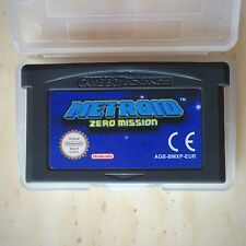 Metroid Zero Mission Nintendo Gameboy SP GBA Game Boy Advance Action Strategy EU
