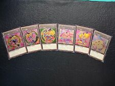 6x Dark Magician Girl DMG Tokens Custom Ultra Rare Yugioh Token FREE SHIPPING