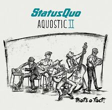 STATUS QUO AQUOSTIC II (2) THAT'S A FACT! - NEW / SEALED CD - UK STOCK
