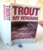 TROUT,1981,Ray Bergman,Illust,DJ